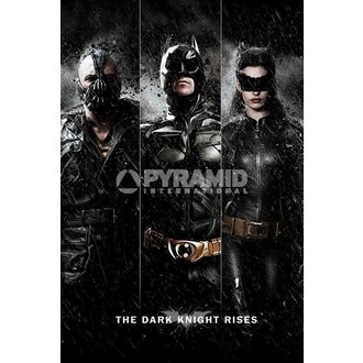 poster Batman - The Dark Knight Rises - Three - PYRAMID POSTERS, PYRAMID POSTERS