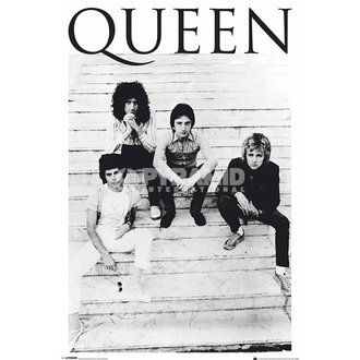 poster Queen - Brazil 81 - PYRAMID POSTERS - PP33182