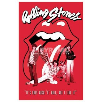 poster Rolling Stones - It's Only Rock N Roll - PYRAMID POSTERS, PYRAMID POSTERS, Rolling Stones