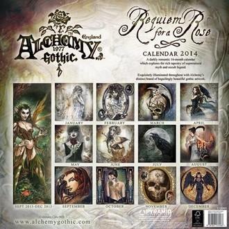 calendar 2014 Alchemy - PYRAMID POSTERS, ALCHEMY GOTHIC