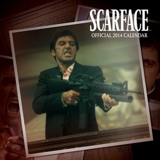 calendar 2014 Scarface - PYRAMID POSTERS, PYRAMID POSTERS