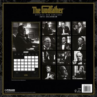 calendar to year 2014 Godfather - PYRAMID POSTERS, PYRAMID POSTERS