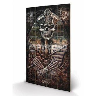 wooden image Alchemy - Thoth Codex - PYRAMID POSTERS, ALCHEMY GOTHIC