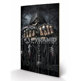 wooden image Spiral - Game Over - Reaper - PYRAMID POSTERS, SPIRAL