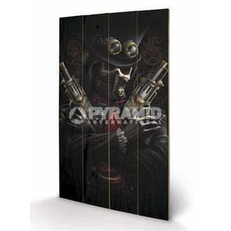 wooden image Spiral - Steampunk Bandit - PYRAMID POSTERS, SPIRAL