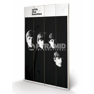 wooden image The Beatles - With The Beatles - PYRAMID POSTERS, PYRAMID POSTERS, Beatles