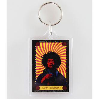key ring (pendant) Jimi Hendrix - Pyschedelic - PYRAMID POSTERS, PYRAMID POSTERS, Jimi Hendrix