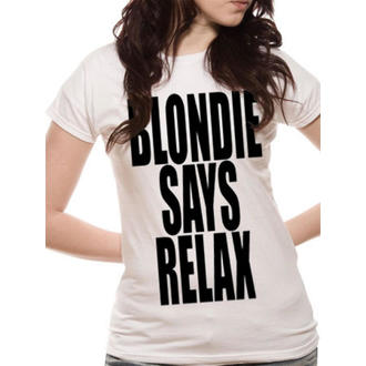 t-shirt metal women's Blondie - Says Relax - LIVE NATION, LIVE NATION, Blondie