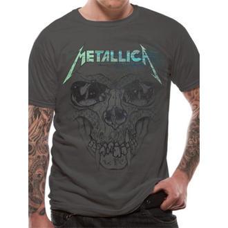 t-shirt metal men's Metallica - Pushead Ionised - LIVE NATION - RTMTL008