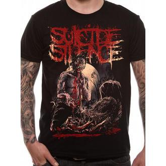 t-shirt metal men's Suicide Silence - Grave - LIVE NATION, LIVE NATION, Suicide Silence