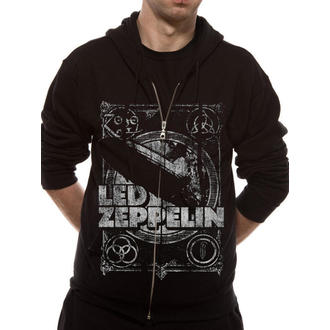 hoodie men's Led Zeppelin - Shook Me - LIVE NATION, LIVE NATION, Led Zeppelin