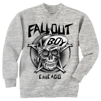 sweatshirt (no hood) men's Fall Out Boy - Skull - LIVE NATION, LIVE NATION, Fall Out Boy