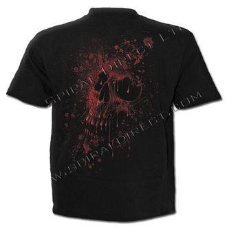 t-shirt men's - Goth Fangs - SPIRAL - D048M101