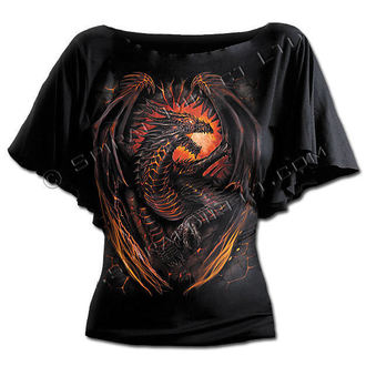 t-shirt women's - Dragon Furnace - SPIRAL - L016F719