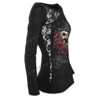 t-shirt women's - Rose Skull - SPIRAL - T081F439