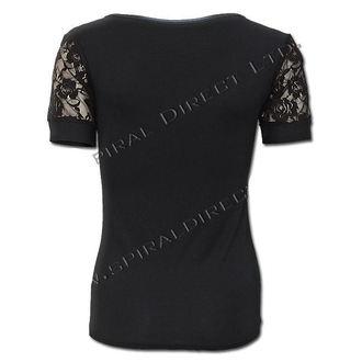 t-shirt women's - Rose Skull - SPIRAL - T081F730