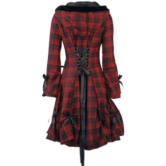 coat women's POIZEN INDUSTRIES - Alice - Red