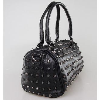 bag (handbag) POIZEN INDUSTRIES - Anarchy - Black