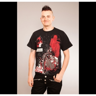 t-shirt men's Batman - Cat Attack - POIZEN INDUSTRIES, POIZEN INDUSTRIES