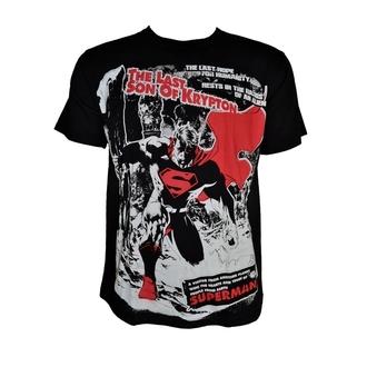 t-shirt men's Superman - Krypton - POIZEN INDUSTRIES