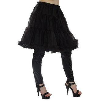 skirt women's (petticoat) POIZEN INDUSTRIES - Midi Petticoat - Black