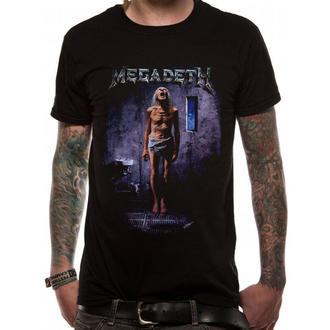 t-shirt metal men's Megadeth - COUNTDOWN TO EXTINCTION - PLASTIC HEAD - RTMGD023