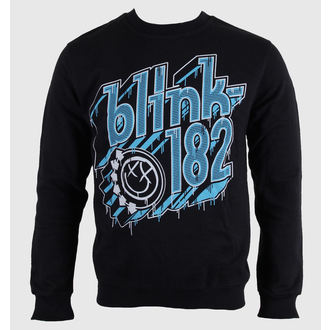 sweatshirt (no hood) men's Blink 182 - Drip Type - LIVE NATION, LIVE NATION, Blink 182