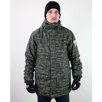 winter jacket men's - Task Force - Green - GRENADE, GRENADE