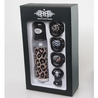 children gift set ROCK STAR BABY - Leopard - 90108