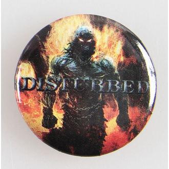 badges Disturbed - Indestructo 5 Btn - Bravado, BRAVADO, Disturbed