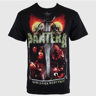 t-shirt metal men's Pantera - Lightning Skulls - BRAVADO, BRAVADO, Pantera