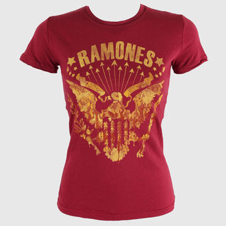 t-shirt metal women's Ramones - - BRAVADO