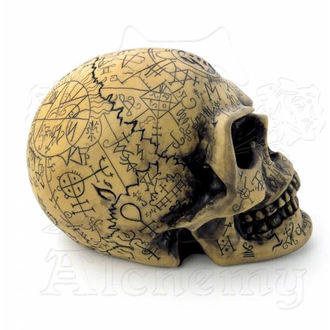 decoration Alchemy Gothic - Omega Skull - V1
