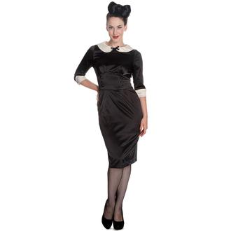 dress women HELL BUNNY - Moneypenny - Black / Ivory, HELL BUNNY