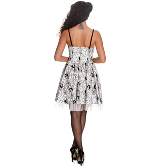 dress women HELL BUNNY - Mary Jane - White, HELL BUNNY