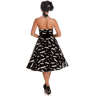 dress women HELL BUNNY - Bat 50´s - Black / white, HELL BUNNY