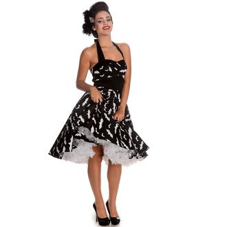 dress women HELL BUNNY - Bat 50´s - Black / white