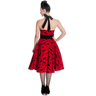 dress women HELL BUNNY - Bat 50´s - Red / Black, HELL BUNNY
