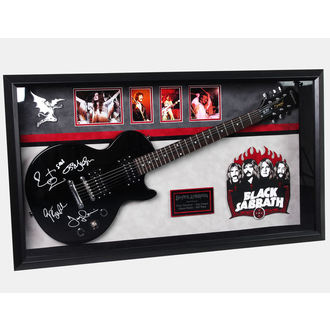 signed guitar BLACK SABBATH, ANTIQUITIES CALIFORNIA, Black Sabbath