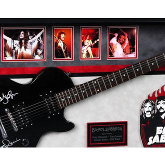signed guitar BLACK SABBATH, ANTIQUITIES CALIFORNIA, Black Sabbath