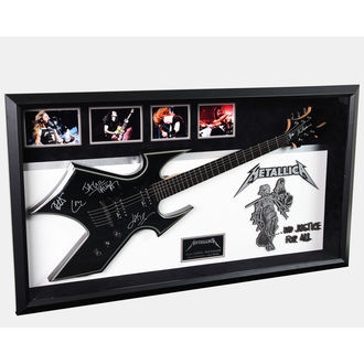 signed guitar METALLICA, ANTIQUITIES CALIFORNIA, Metallica
