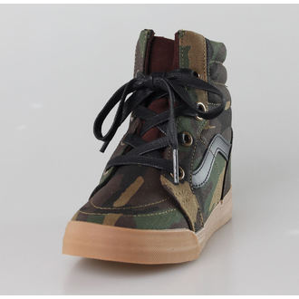 wedge boots women's - SK8-HI Wedge (Camo) - VANS, VANS