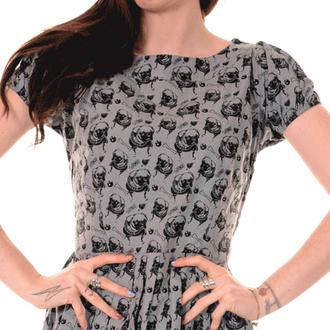 dress women 3RDAND56th - Pleated Pug - Silver/Grey - JM1254