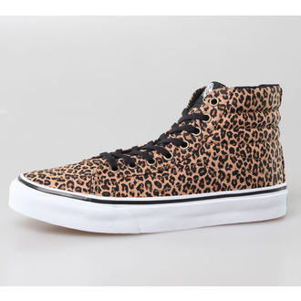 high sneakers women's - U Sk8-Hi Slim -LEOPARD- - VANS, VANS