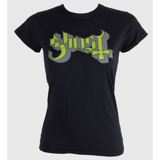 t-shirt metal women's Ghost - Keyline Logo - ROCK OFF, ROCK OFF, Ghost