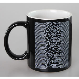 cup Joy Division - Unknown Pleasures - Black - ROCK OFF, ROCK OFF, Joy Division