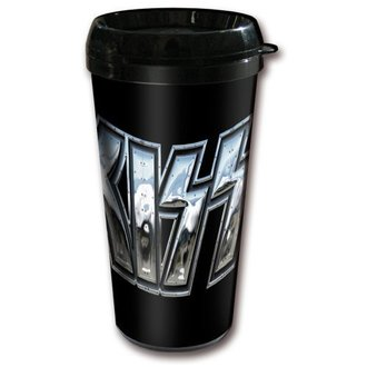cup thermal KISS - Chrome Logo, ROCK OFF, Kiss