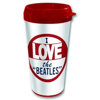 cup thermal The Beatles - I love The Beatles - ROCK OFF, ROCK OFF, Beatles