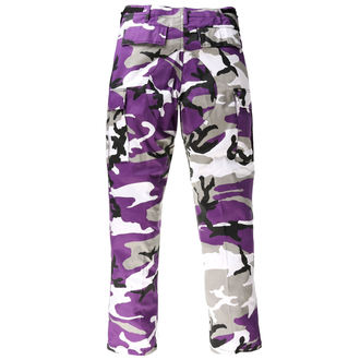 Men's Trousers US BDU - ARMY - LILA CAMO - 200500