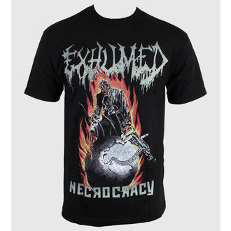 t-shirt metal men's Exhumed - Necrocracy - RELAPSE, RELAPSE, Exhumed